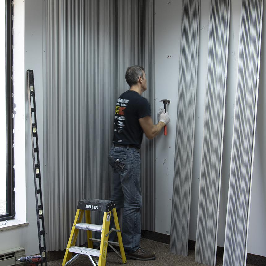 Adding drywall anchors