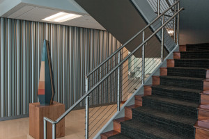metal feature wall