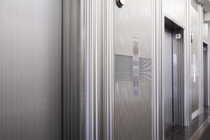 decorative elevator cladding