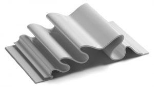 dimensional metal panel