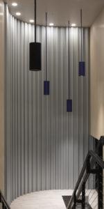 decorative metal wall