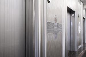 decorative elevator cladding