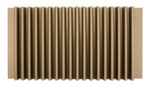 wavy metal panel